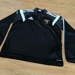 Adidas UFC soccer jacket size M